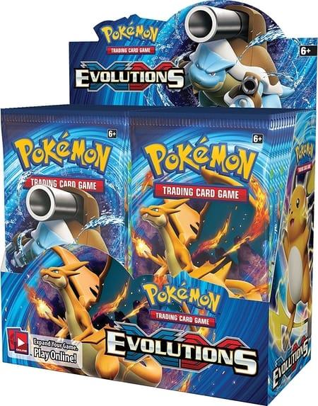 Which Pokemon Booster Box to Buy XY Evolution Nostalgia