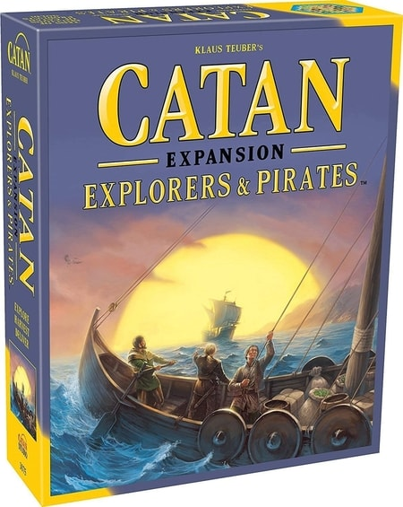 Which Settlers of Catan to Buy Explorers and Pirates