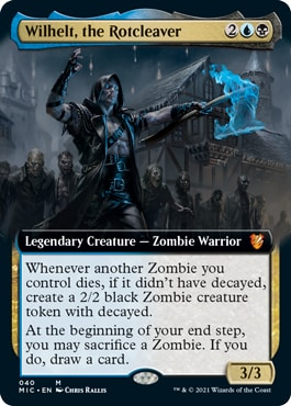 Wihelt, the Rotcleacver Extended Art What's in Midnight Hunt Collector Booster
