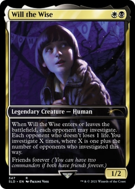 Will the Wise Magic the Gathering Stranger Things Cards