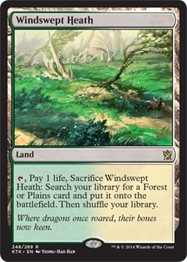 Windswept Heath What Are MTG Fetch Lands