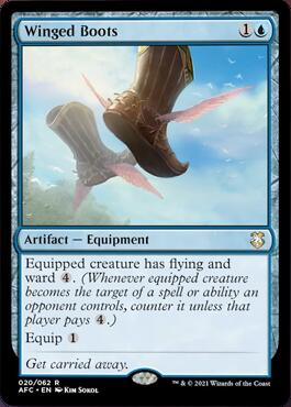 Winged Boots Aura of Courage Decklist