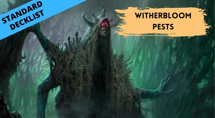Witherbloom Pests Tribal Decklists Standard Banner