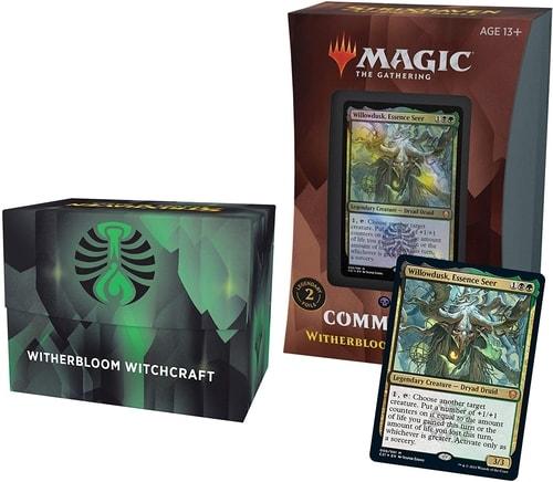 Witherbloom Witchcraft Strixhaven Commander Precon