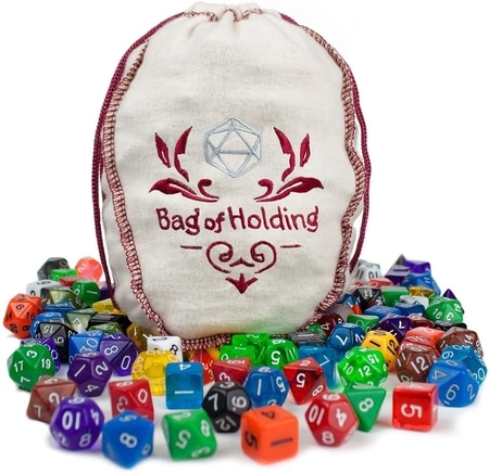 Wiz Dice Bag of Holding Best Dice for Dungeons and Dragons