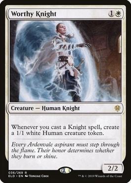 Worthy Knight Tribal Knights Commander