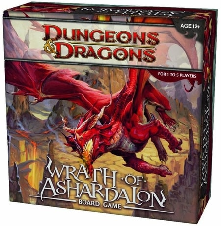 Wrath of Ashardalon Board Game Dungeons and Dragons