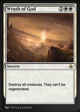 Wrath of God Amonkhet Remastered