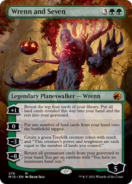 Wrenn and Seven Midnight Hunt Collector Booster Contents