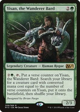 Yisan, the Wanderer Bard Best MTG Human Cards