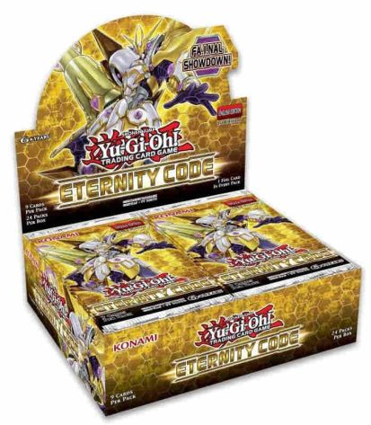 Yu-Gi-Oh Gift Guide Booster Box Eternity Code