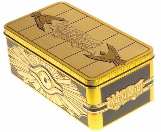 Yugioh gifts gold tin sarcophagus
