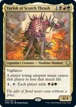 Yurlok of Scorch Thrash Commander Legends
