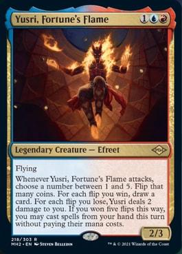 Yusri, Fortune's Flame