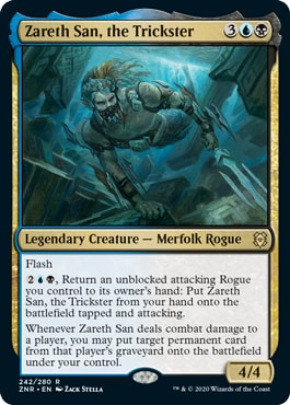 Zareth San, the Trickster Best Zendikar Rising Commanders