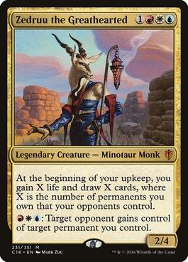 Zedruu the Greathearted Most Fun Jeskai Commanders