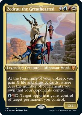 Zedruu the Greathearted Commander Legends