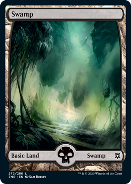 Zendikar Rising Basic Swamp