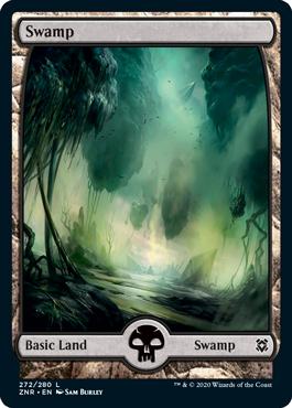 Zendikar Rising Basic Swamp