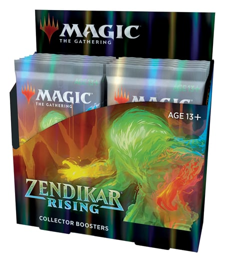 Zendikar Rising Collector Booster Box Contents