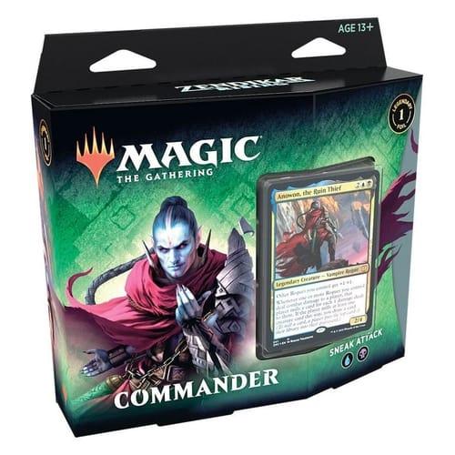 All Commander Precons List Sneak Attack