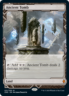Zendikar Rising Expeditions Ancient Tomb