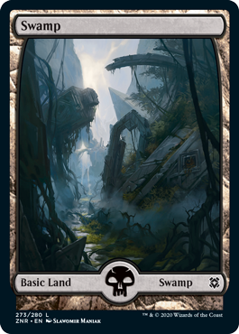 Zendikar-Rising-Full-Art-Basic-Land-Swamp