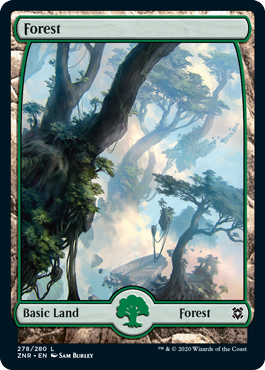 Zendikar-Rising-Full-Art-Forest