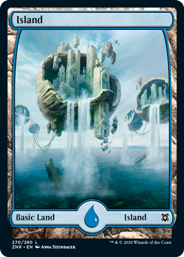 Zendikar-Rising-Full-Art-Island