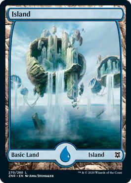 Zendikar-Rising-Full-Art-Island