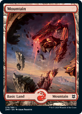 Zendikar-Rising-Full-Art-Lands-Mountain