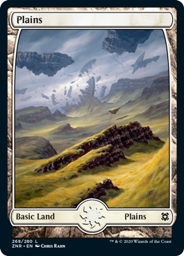 Zendikar-Rising-Full-Art-Lands-Plains