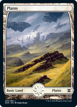 Zendikar-Rising-Full-Art-Lands-Plains