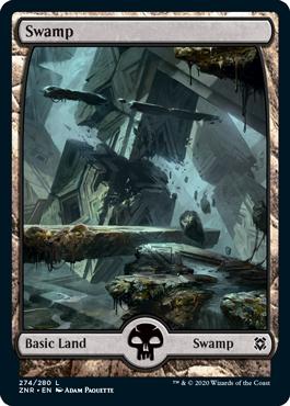 Zendikar-Rising-Full-Art-Swamp