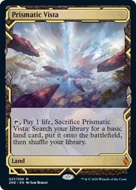 Zendikar Rising Prismatic Vista