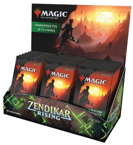 Set Booster Box Zendikar Rising Expeditions