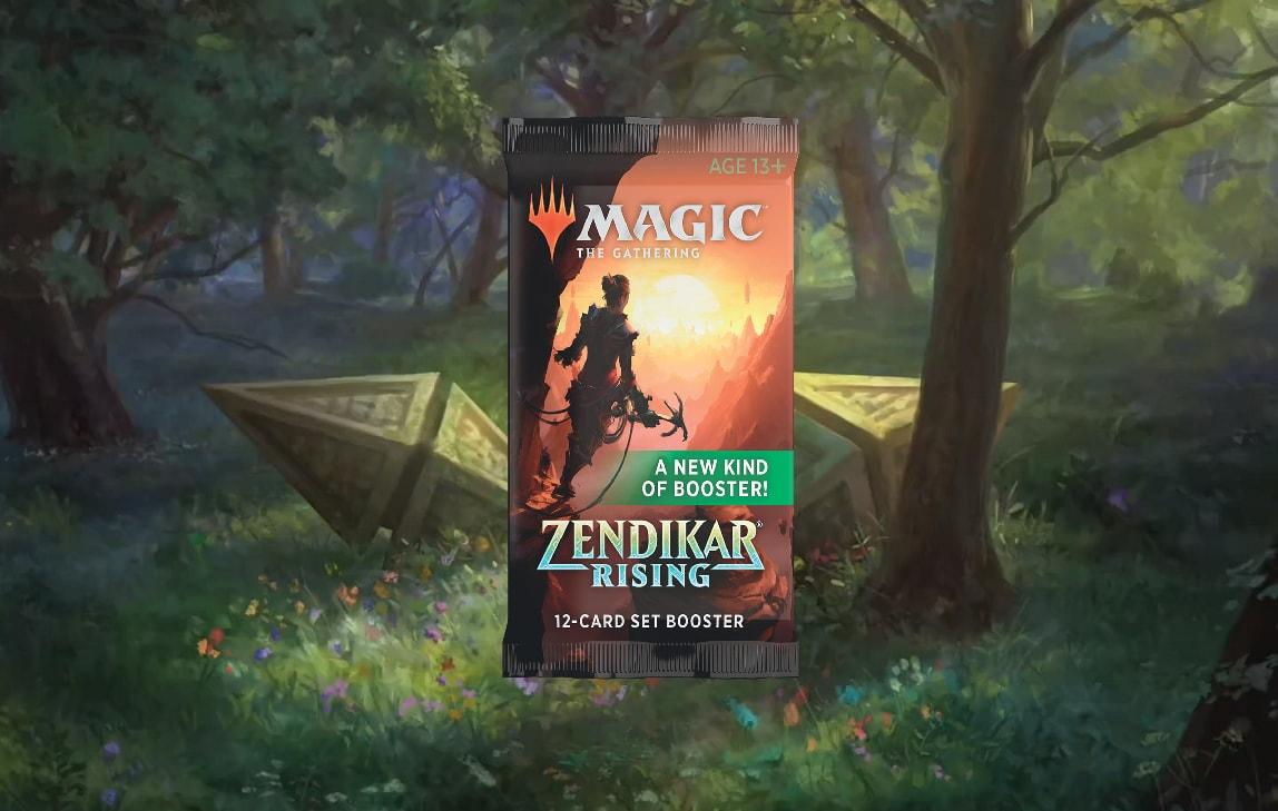 Zendikar Rising Set Booster Contents Banner