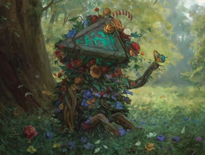 Zendikar Rising Spoilers Overgrown Hedron
