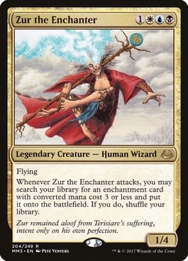 Zur the Enchanter Best MTG Commanders for Enchantments