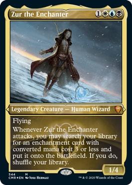 Zur the Enchanter Foil Etched