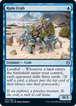 Ruin Crab Dimir Rogues Upgrade Challenger Deck 2021